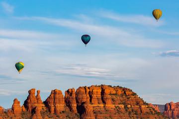 Hot Air Ballooning in Sedona Arizona.