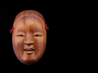 asian theater mask