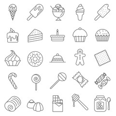 Dessert and Sweet icons