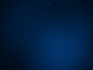 Beautiful Blue Light and Particles - Luxury Space Background Design Element