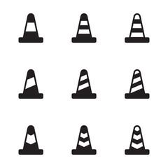 traffic cone icons