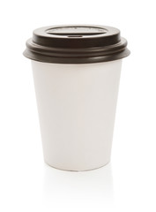 Coffee drinking paper cup