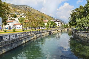 Турецкий город Финике. Река Ацису (Acisu), красивый ландшафт