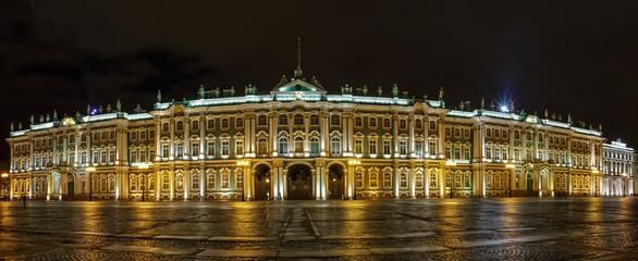 Winter Palace (Hermitage) Saint Petersburg city by night