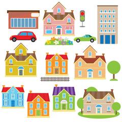 House cartoon vector illustration