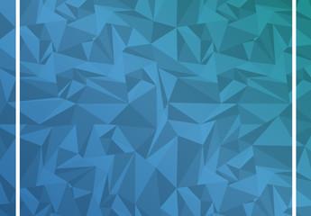 Blue Polygonal Illustration