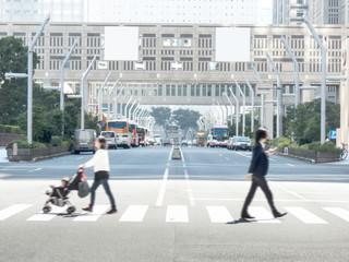 西新宿の街並み
