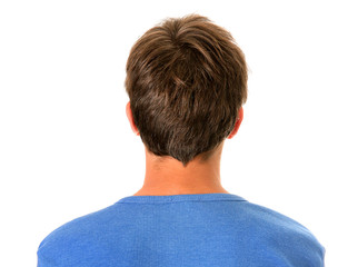 Rear View of a Man