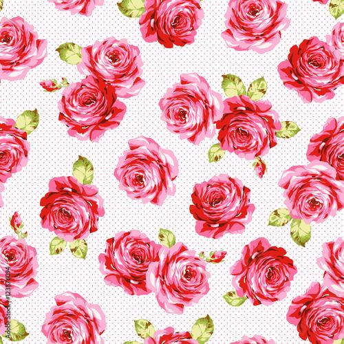 薔薇柄 ラフタッチfotoliacom の ストック画像とロイヤリティフリーの