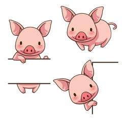 Tiny Piggy sign board