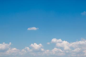 A soft cloud background