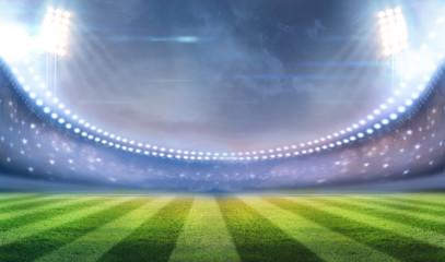 ights at night and stadium