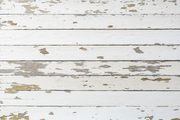 White rustic distressed wood wall texture background