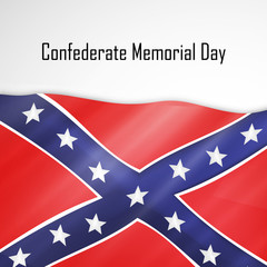 Confederate Memorial Day background