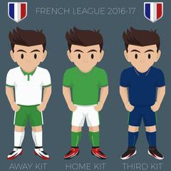 French League Team Kits 2016/17 Ligue 1