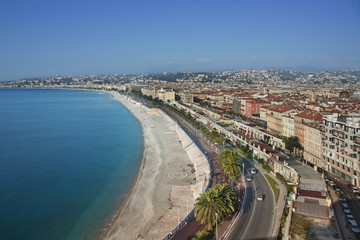 Nice from above (French Riviera)