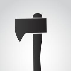 Axe vector icon.