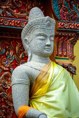 Khmer style goddess statue