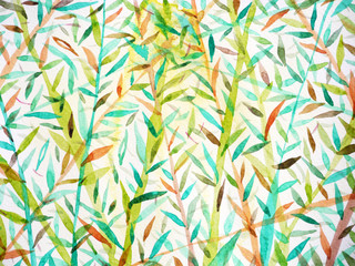 bamboo background watercolor painting japanese chinese drawing