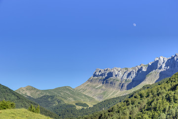 landscape of pyrenees
