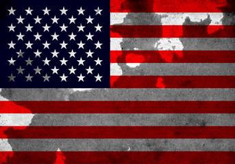 retro USA Flag