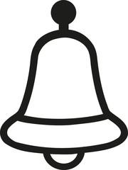 Bell jingle outline