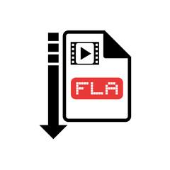 computer video file icon