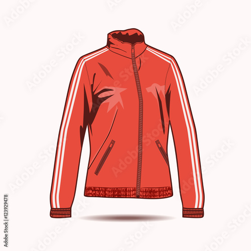 bomber jacket template stock image and royalty free vector files