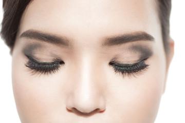Close up eyelash