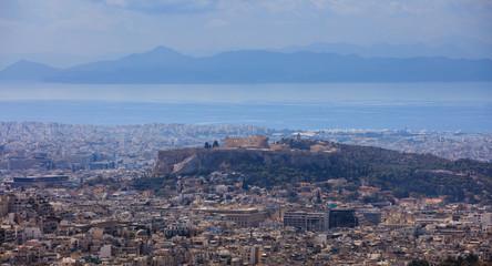 Athens, Greece - Panoramic view