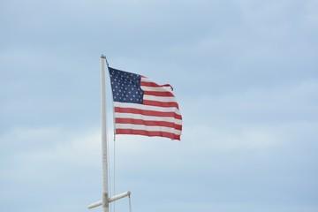 Freedom stands after hurricane Matthew