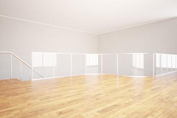 Modern unfurnished interior