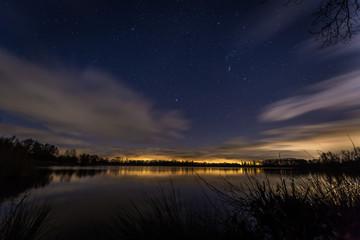 Sternenhimmel über dem Wölfersheimer See