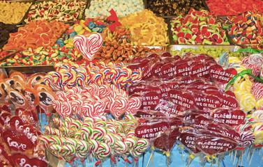 Mixed colorful fruit bonbon 1