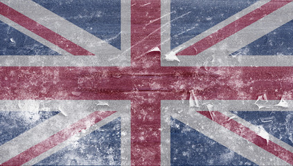 Frozen uk flag