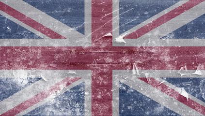 Frozen uk flag