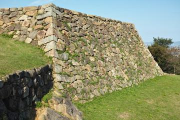 伯耆 米子城 石垣