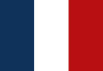 france flag classic culture vector illustration design