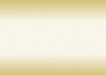 鮫小紋 模様 伝統文様 和柄 背景 金 グラデーション