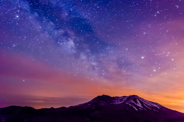 Mt St Helen colors