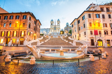 Deurstickers Rome piazza de spagna in rome, italy