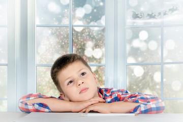 Kinderträume zu Weihnachten.