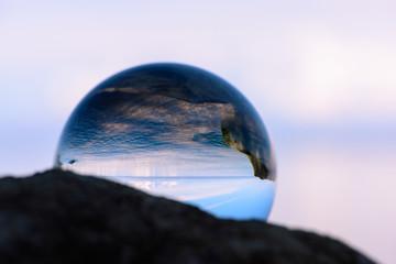 Reflection of coast