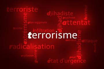 Nuage de Mots Terrorisme v2