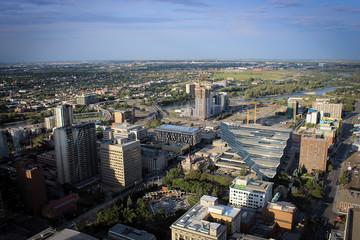 City of Calgary panorama, Canada