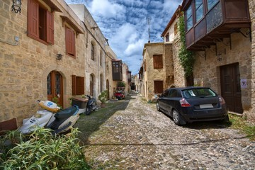 Old Town of Rhodes - Apolloniou Street