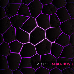 Abstract  background with geometric pattern. Vector