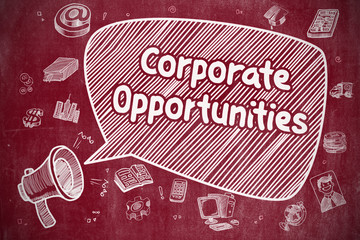 Corporate Opportunities - Business Concept.