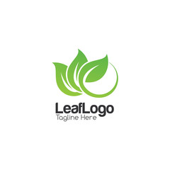 Leaf Creative Concept Logo Design Template