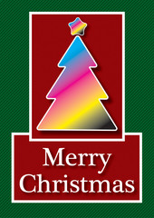 CMYK Christmas Card